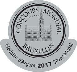AWARD-CONCOURS-MONDIAL-BRUXELLES-(SILVER)2017